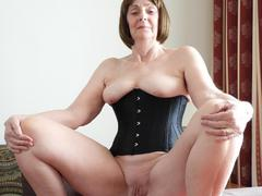KatKitty - Black Corset Gallery