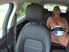 NudeChrissy - Backseat Pussy Play HD Video