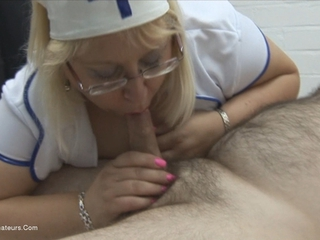 Nurse Lexie Sucking Cock