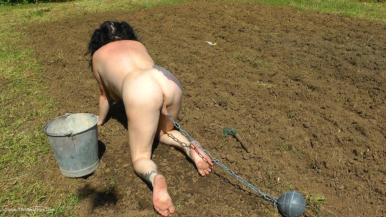 MaryBitch - Outdoor Work & Punishment Pt1 scene 0