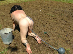 MaryBitch - Outdoor Work & Punishment Pt1 HD Video