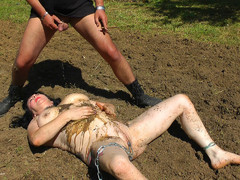 MaryBitch - Outdoor Work & Punishment Pt3 HD Video