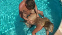 sweetsusi - The Pool Side Creampie Free Pic 2