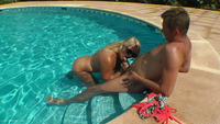 sweetsusi - The Pool Side Creampie Free Pic 3