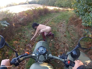 Naked Sidecar Ride In The For