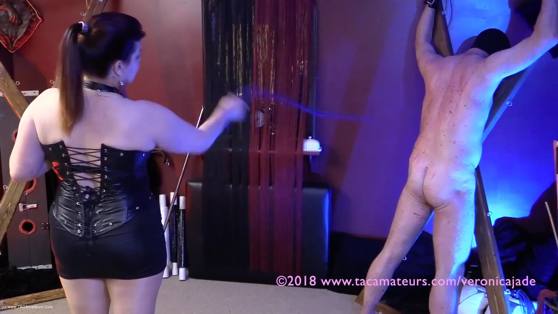 VeronicaJade - Whipping Time Pt2 scene 1