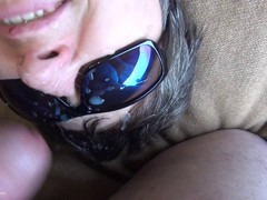 HotMilf - Sunglasses Full Of Spunk HD Video