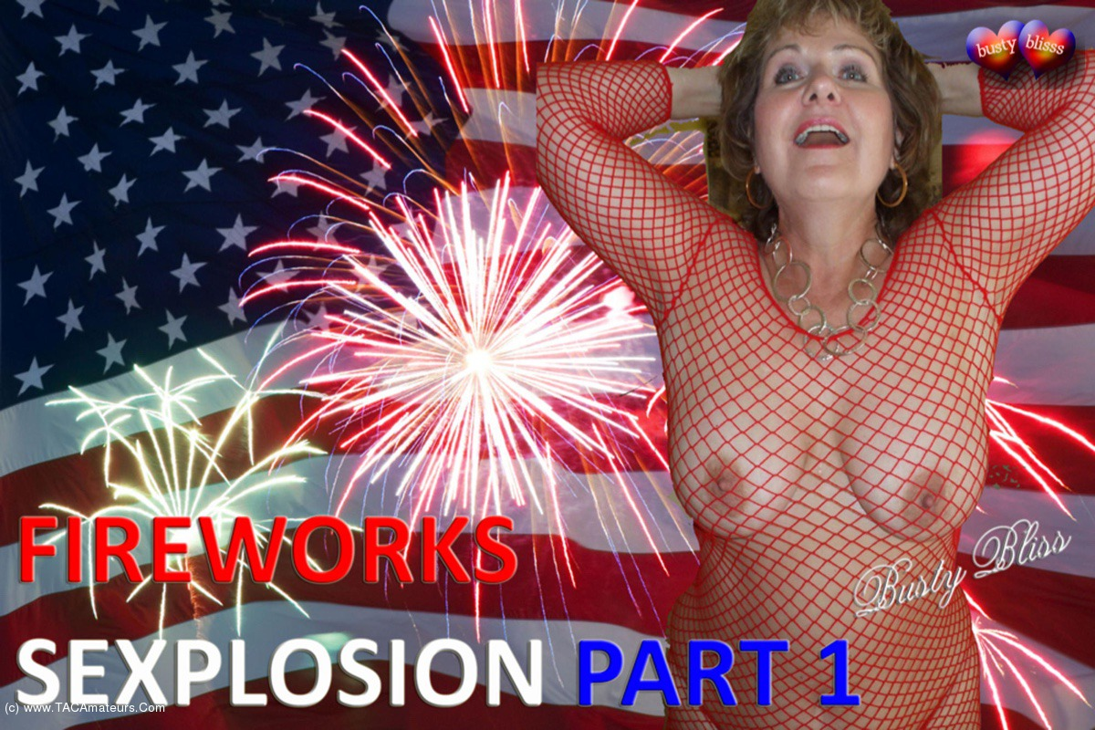 BustyBliss - Fireworks Sexplosion Pt1 - Happy 4th Of July & Pussy Eating scene 0