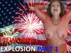 BustyBliss - Fireworks Sexplosion Pt1 - Happy 4th Of July & Pussy Eating HD Video