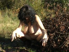 MaryBitch - Naked Sidecar Ride In The Forest Pt4 HD Video