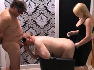 VickyCarrera - Two Hole Bi Slave