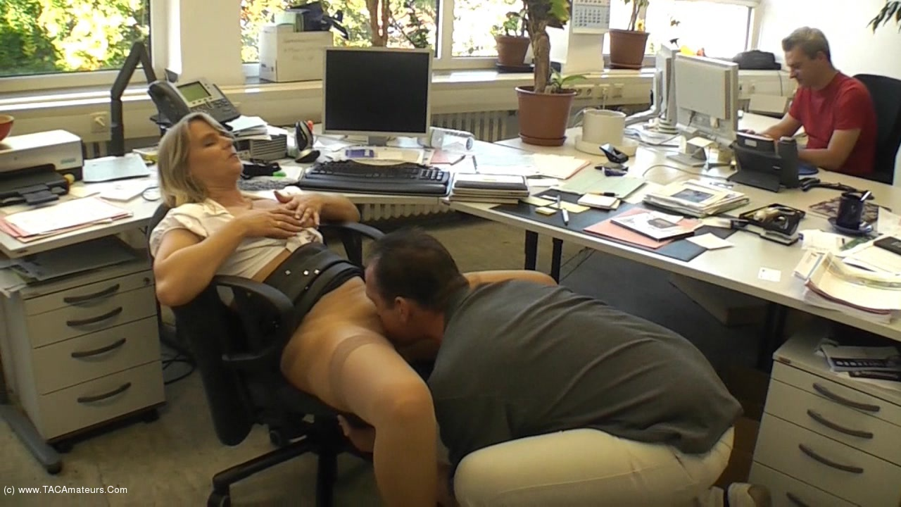 SweetSusi - Extremely Cool In The Office scene 1