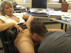 SweetSusi - Extremely Cool In The Office HD Video