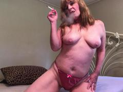CougarBabeJolee - Teasing In Satin Panties HD Video