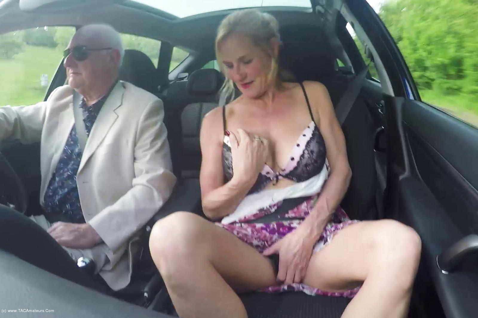 MollyMILF - Flashing In The Car scene 2