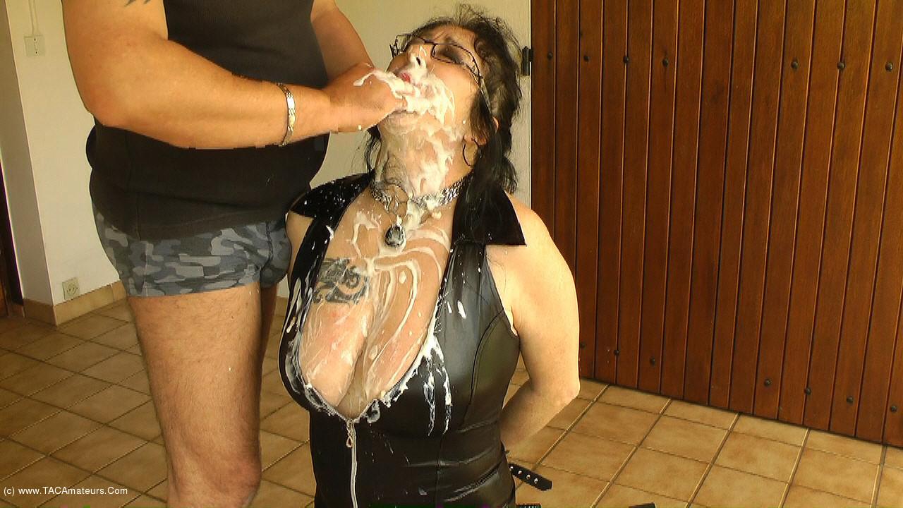 MaryBitch - Deep Throat Training With Milk & Yoghurt Pt1 scene 1