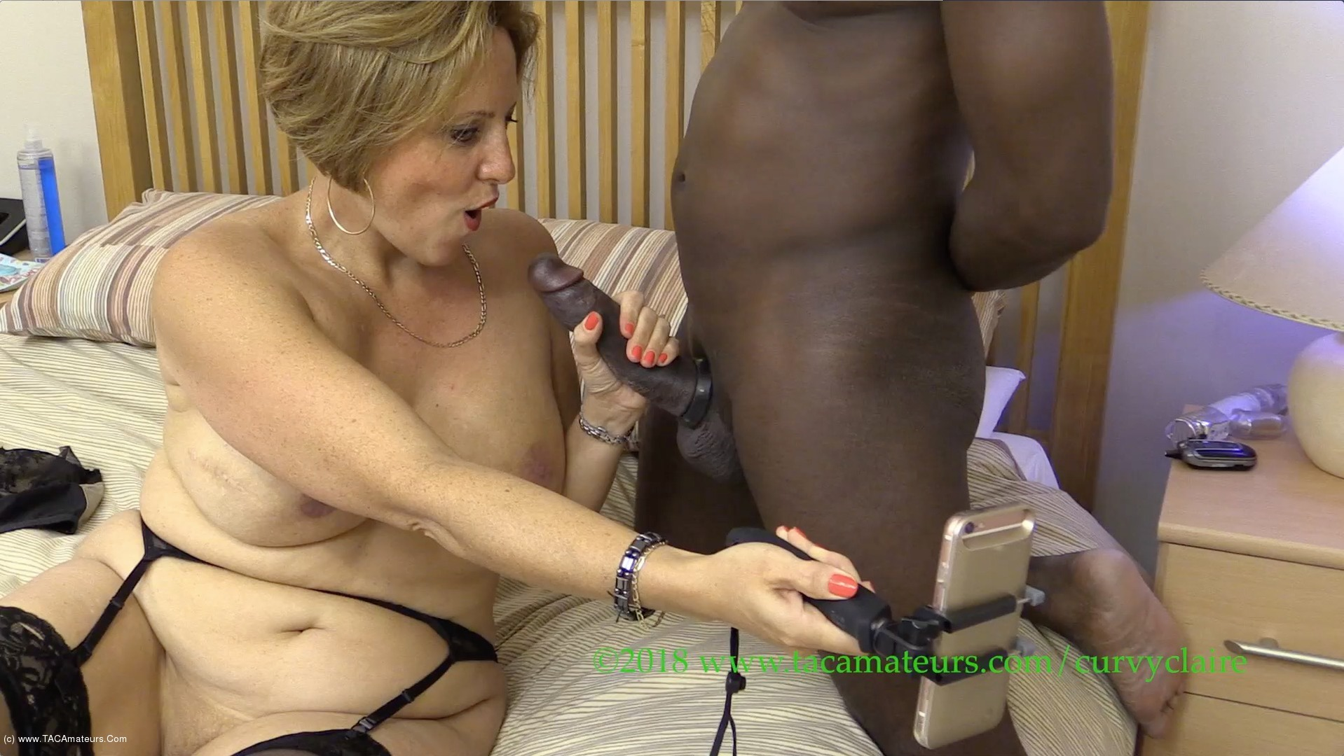 CurvyClaire - Dial A Dicks Huge 10 Inch Cock Pt2 scene 3