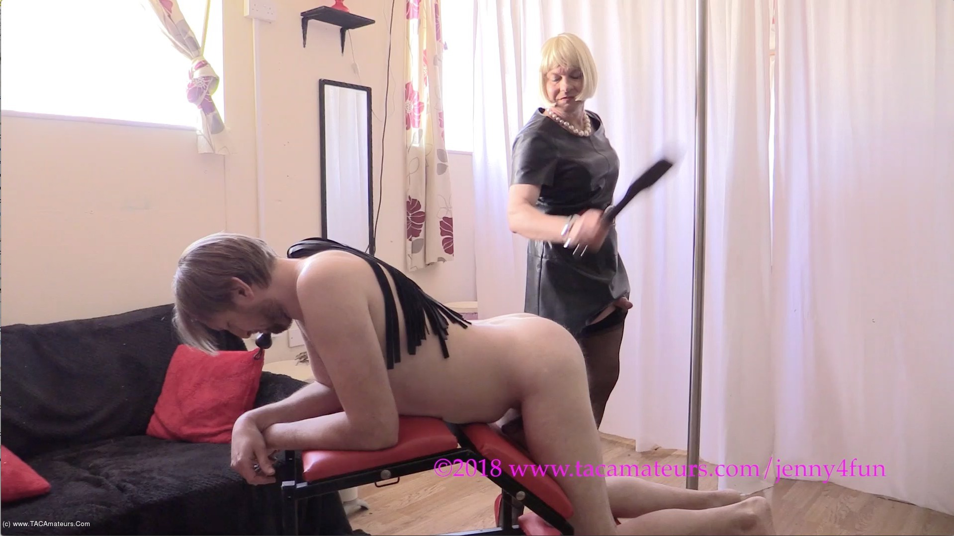 Jenny4Fun - BDSM Fun Pt6 scene 0
