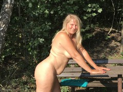 SweetSusi - On The Bench By The Lake Photo Album