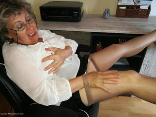 Secretary's Sheer Nylons