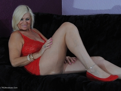 PlatinumBlonde - Red Dress Pt1 Gallery