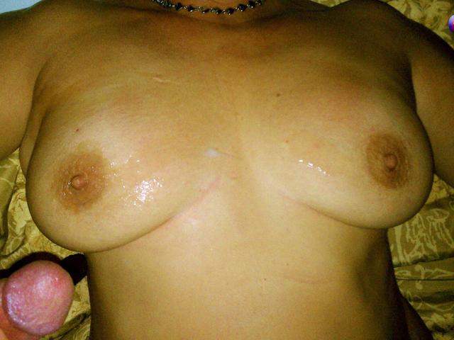 Hotel Fiesta Of Cummy Tits & Cum Aftermath Posing