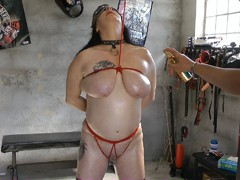 MaryBitch - Oiling Of My Big Tits HD Video