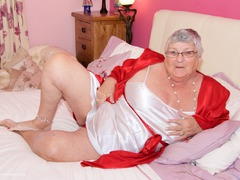 DirtyDoctor - Grandma Libby On The Bed Gallery