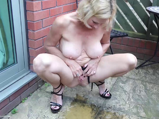Molly MILF - Pissing For You HD Video