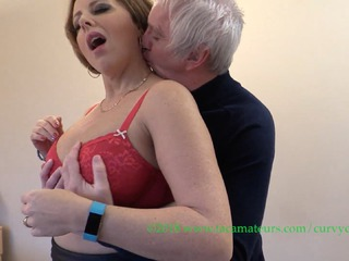 Curvy Claire - The Mattress Salesman Pt1 HD Video