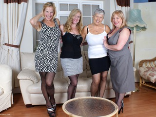 MollyMILF - Four Girl Fun