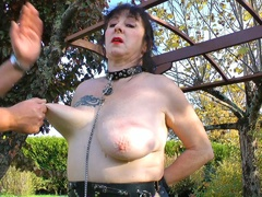 MaryBitch - Pulling & Slapping My Big Saggy Udders Pt1 HD Video