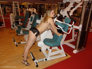 Susi At The Gym