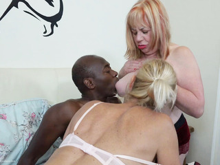 Interracial Threesome Pt2