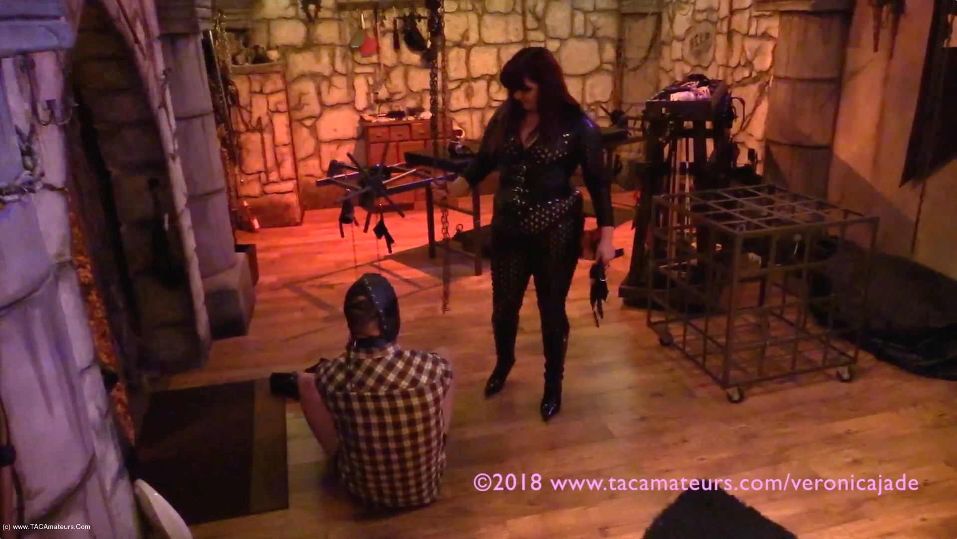 VeronicaJade - Castle Dungeon BDSM Pt1 scene 0