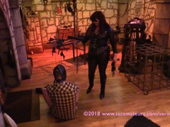 VeronicaJade - Castle Dungeon BDSM Pt1 HD Video
