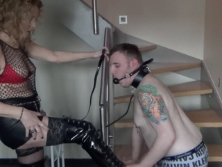 Kyras Nylons - Kyra  Her Slave Pt2 HD Video