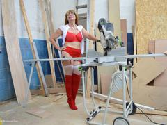 BarbySlut - Barby In The Workshop Gallery