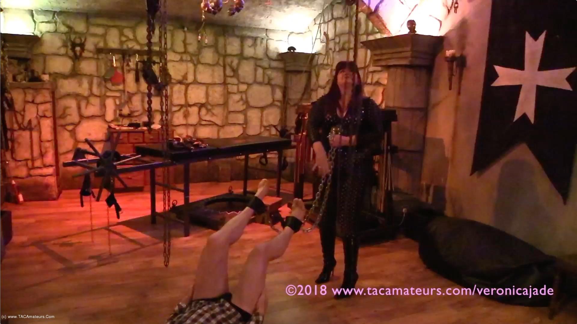 Bdsm Dungeon veronica jade - castle dungeon bdsm pt2 video