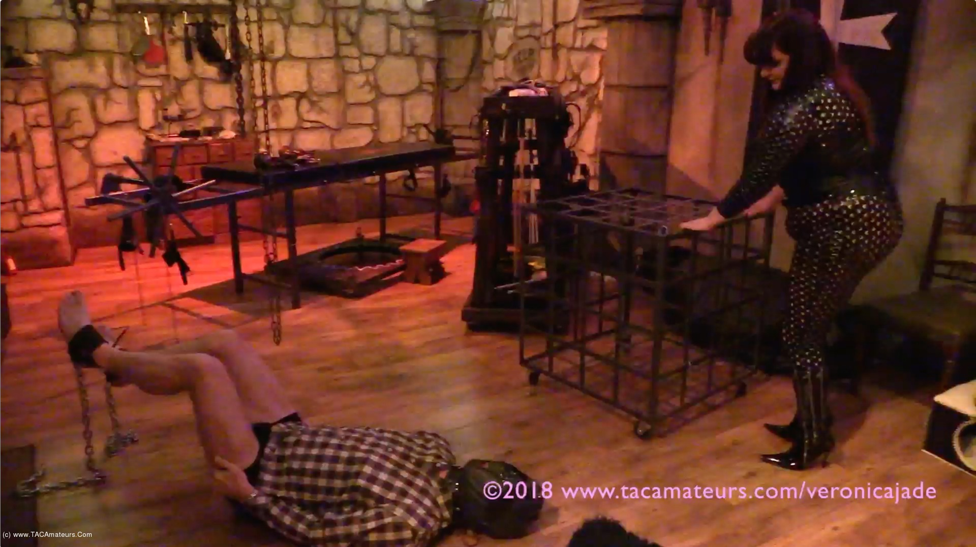 VeronicaJade - Castle Dungeon BDSM Pt2 scene 1