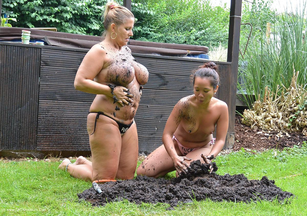 NudeChrissy - Two Hot Ladies In The Dirt scene 0