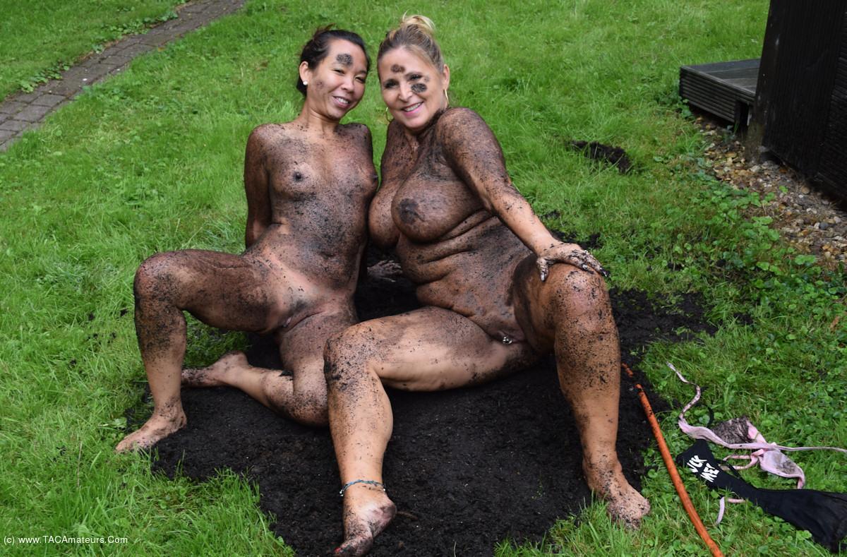 NudeChrissy - Two Hot Ladies In The Dirt scene 3