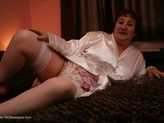 KinkyCarol - Dressed For Bed In Stockings Pt1 Gallery