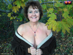 BustyBliss - Busty Bliss Breasts Of Foliage Gallery