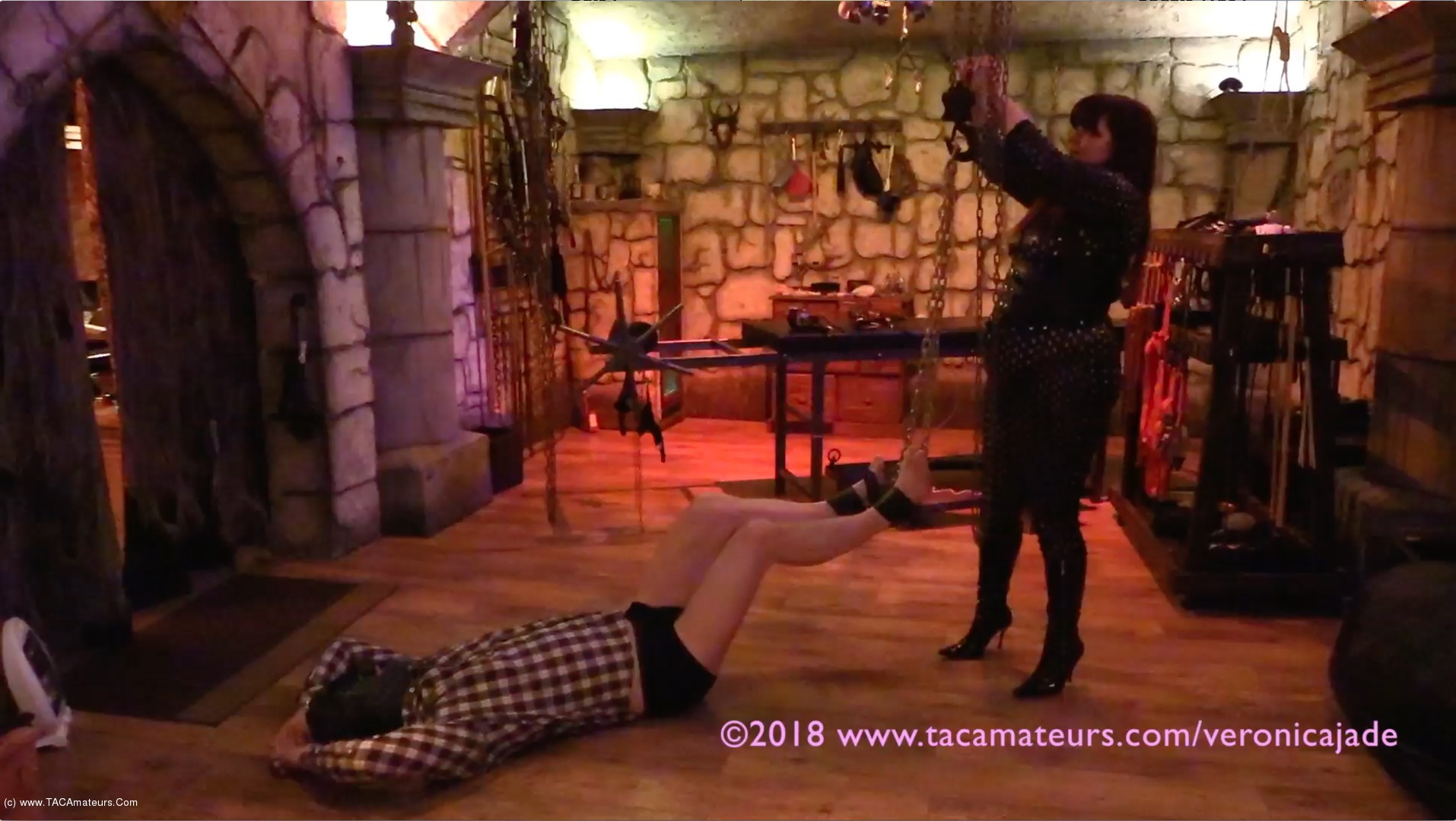 VeronicaJade - Castle Dungeon BDSM Pt3 scene 0