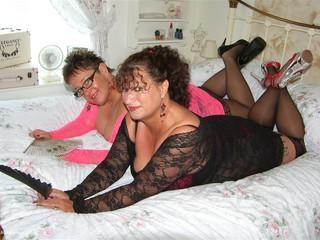 Kim & Honey In Lace