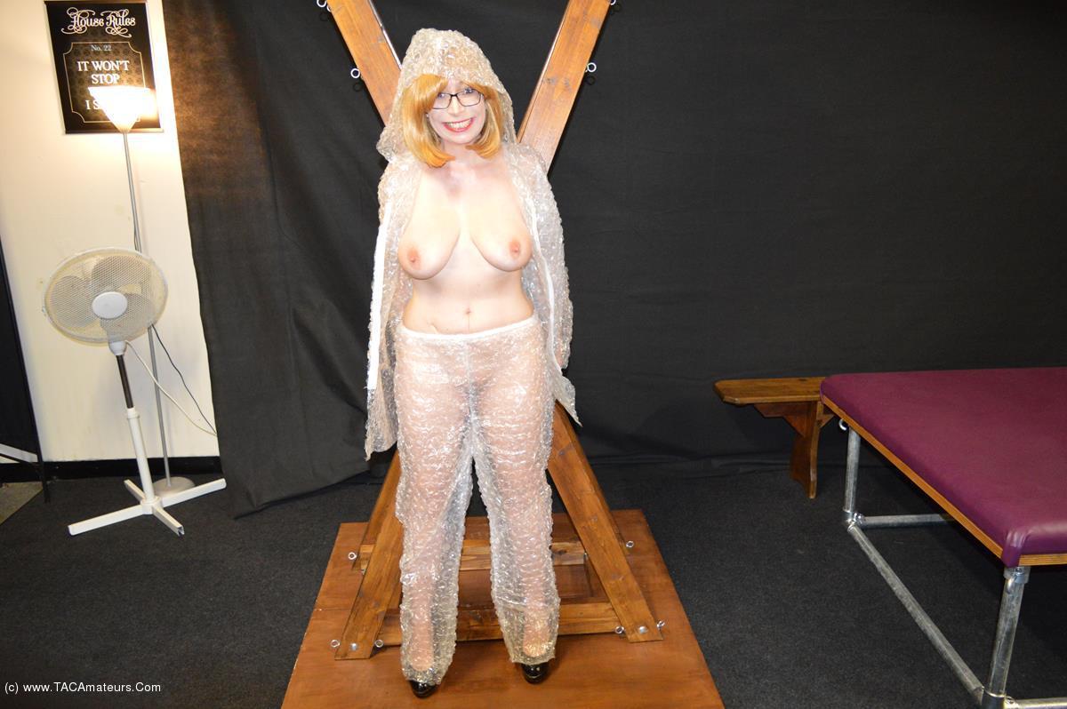 BarbySlut - Bubble Wrap Barby scene 1