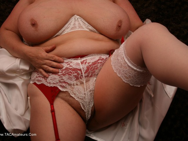 KinkyCarol - Dressed For Bed In Stockings Pt2