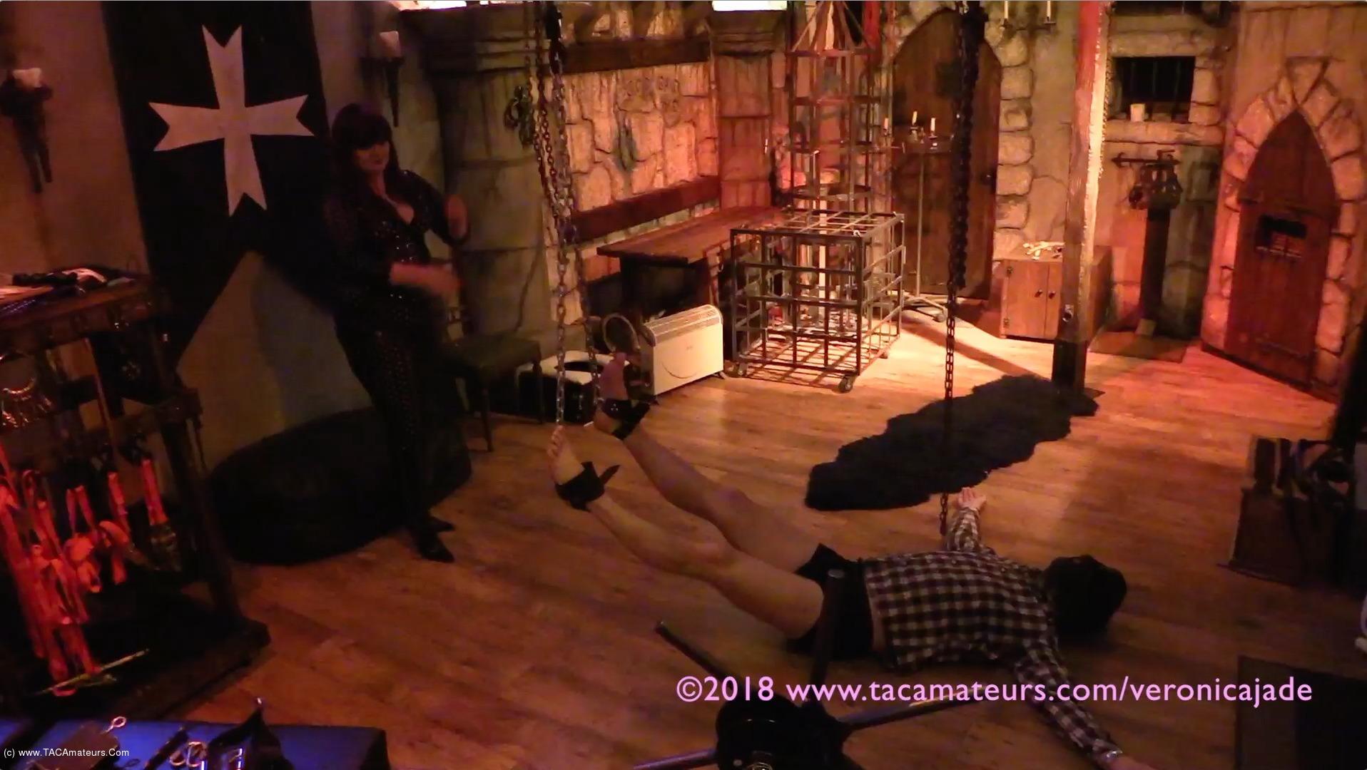 VeronicaJade - Castle Dungeon BDSM Pt4 scene 1