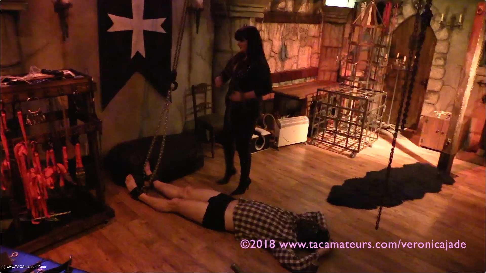 VeronicaJade - Castle Dungeon BDSM Pt5 scene 3